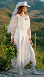 Western Wedding Dress
