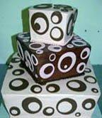 Unique wedding cake design for a groom