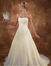 Unique wedding dresses long elegant gown