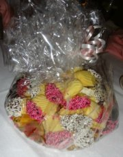 Centerpieces of cookie tray