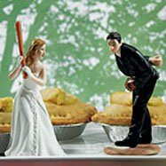 List of wedding themes bride and groom cake topper