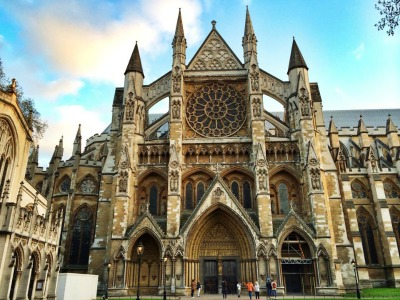 Westminster Abbey is a great place to visit on your honeymoon