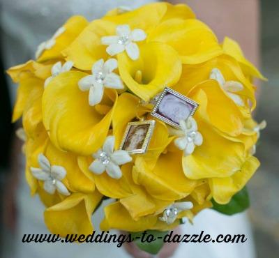 Unique Wedding Ideas Bouquet with Parents Pictures