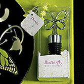 Butterfly Wedding Themes wine stopper