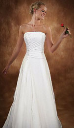 Chiffron Gown Casual Beach Wedding Dresses