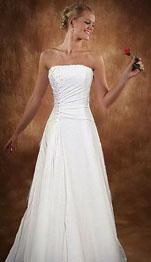 Chiffron Gown Casual Beach Wedding Dresses