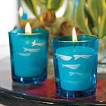 Cheap Wedding Supplies Blue Beach Candles