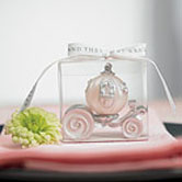 Cinderella theme wedding favor of Cinderella's carriage