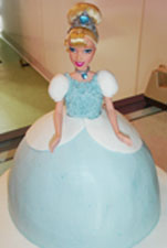 Cinderella wedding ideas with a Cinderella figurine