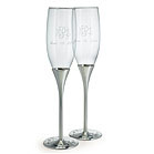 Cool wedding gifts fluted champaign glasses