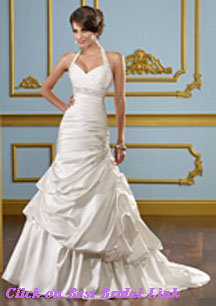 Sexy halter wedding dresses