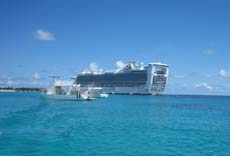 Cruising while on your  honeymoon