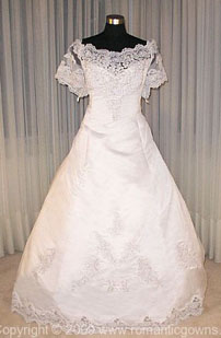 Old fashion wedding dress