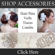 Clips, veils and tiaras for brides