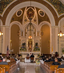 Wedding ceremony etiquette for the church