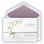 Classy wedding invitation paper