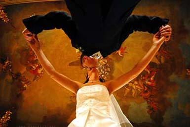 Interesting wedding photo ideas