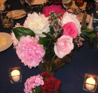 Wedding floral centerpiece idea