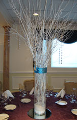 Wedding Centerpiece made with twigs