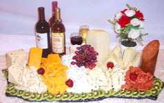 Wine & Cheese Tray Photo