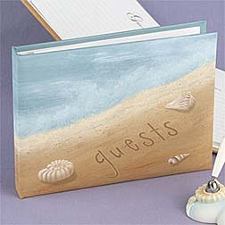 Beach Wedding Ideas guestbook