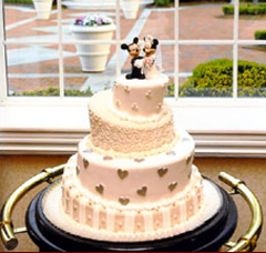 How Much Does A Disney Wedding Cake Cost