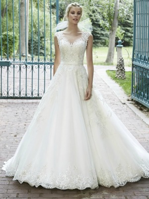 Beautiful Disney Wedding Theme Gown
