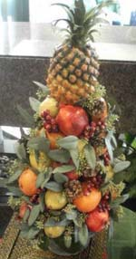 Edible Centerpieces of fruit tree