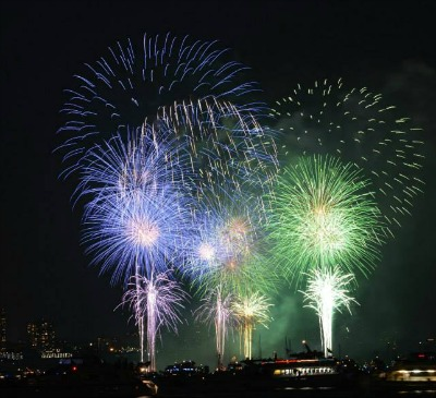 Fireworks are beautiful and add a bit of fun to a wedding reception.