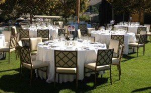 Inexpensive ideas for a backyard celebration
