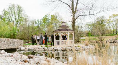 Beautiful garden wedding as one from a list of wedding themes in NJ