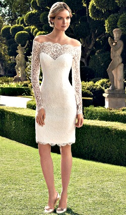 Short informal summer wedding dresses