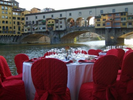 Wedding overlooking the Ponte Vecchio
