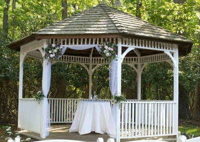 Unique Outdoor Wedding Gazebo