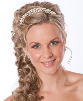 Swell Hairstyles For Brides With Curly Hair Best Hairstyles 2017 Hairstyles For Women Draintrainus