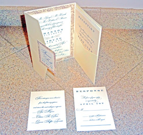 Elaborate wedding invitation ideas