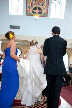 Etiquette for the wedding ceremony