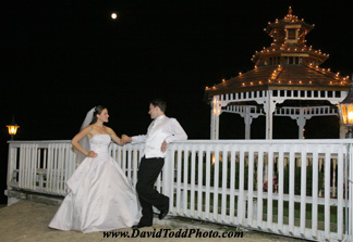 Wedding photography techniques for pictures taken at night