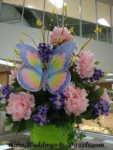 Butterfly Centerpiece for Wedding Planning Checklist