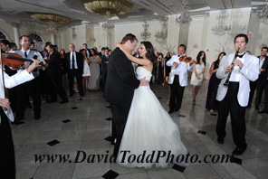 Picture of the bride and groom wedding dancing to wedding song ideas