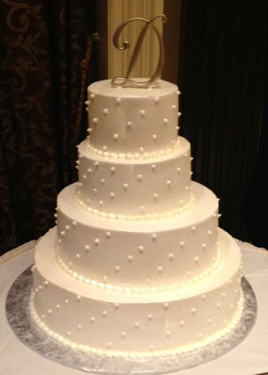 Elegant Winter Wedding Cakes Photo