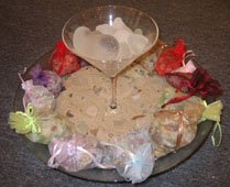 Original wedding reception ideas glass with sand
