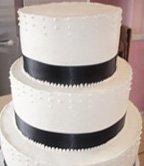 Black and White Wedding Ideas Wedding Cake