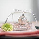 Cinderella theme wedding favor of Cinderella's carriage
