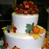 List of wedding themes fall wedding cake