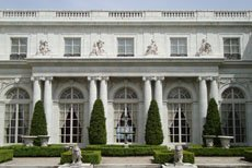 Reception hall Rosecliff in Newport Rhode Island