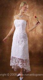 Tea Length summer wedding dresses