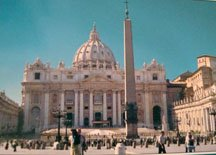 St. Peter's Square in Rome