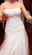 Unique wedding dresses strapless