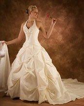 Unique wedding dresses Cinderella skirt